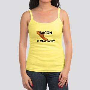 Bacon Is Meat Candy Jr. Spaghetti Tank
