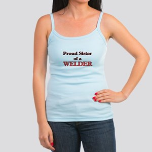 Proud Sister of a Welder Tank Top