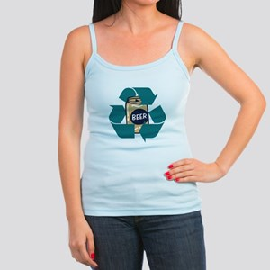 Recycle Beer Jr. Spaghetti Tank