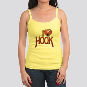 I Heart Hook Jr. Spaghetti Tank