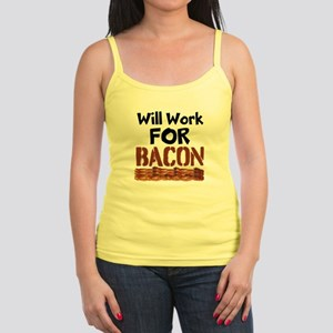 Will Work For Bacon Tank Top