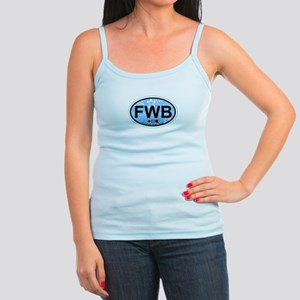 Fort Walton Beach - Oval Design Jr. Spaghetti Tank