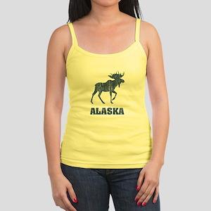 Retro Alaska Moose Jr. Spaghetti Tank