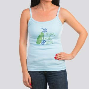 Crawl, Walk, Golf Jr. Spaghetti Tank