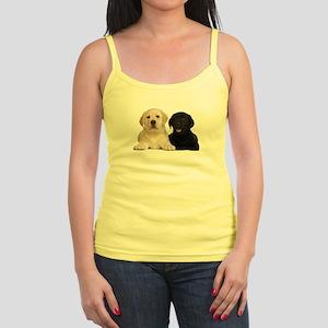 Labrador puppies Jr. Spaghetti Tank