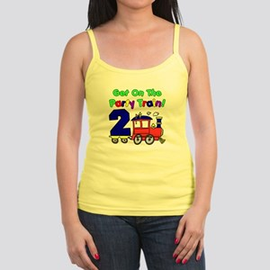 Get On The Party Train 2 Year O Jr. Spaghetti Tank