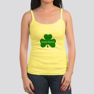 CUSTOM Shamrock with Your Name Tank Top