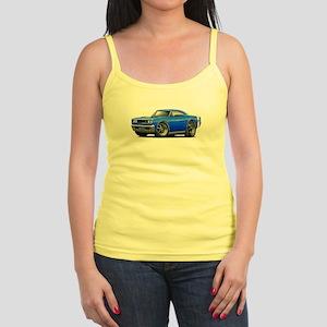 1969 Super Bee Blue Car Jr. Spaghetti Tank