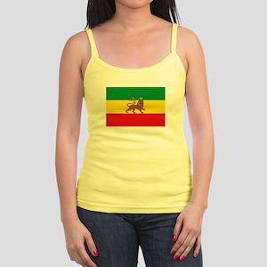 Ethiopia Flag Lion of Judah Rasta Reggae Tank Top