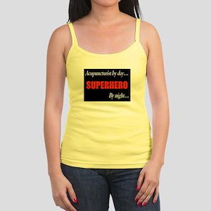 Superhero Acupuncturist Gift Jr. Spaghetti Tank