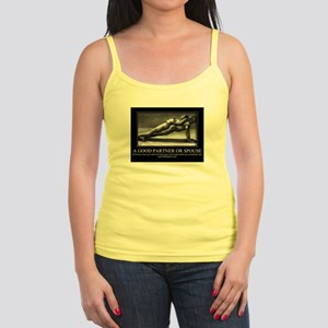 A good partner or spouse Jr. Spaghetti Tank