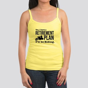 Riding Retirement Plan Tank Top