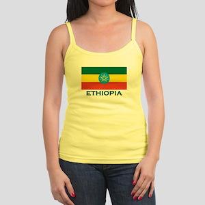 Ethiopia Flag Merchandise Jr. Spaghetti Tank