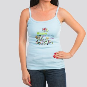 Hippie Chick at Heart Jr. Spaghetti Tank