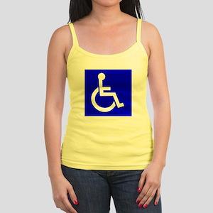 Handicap Sign Tank Top