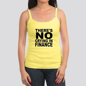 There's No Crying In Finance Tank Top