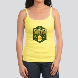 Irish Pub Personalized Jr. Spaghetti Tank