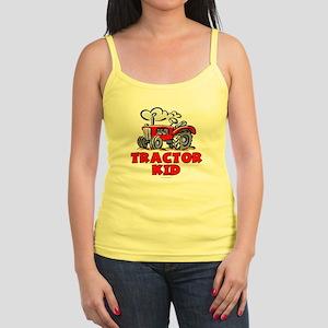 Red Tractor Kid Jr. Spaghetti Tank