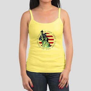 American flag Spaghetti strap Tank