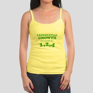 Exponential Growth Jr. Spaghetti Tank