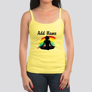 I LOVE YOGA Jr. Spaghetti Tank
