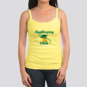 Bookkeeping Chick #3 Jr. Spaghetti Tank