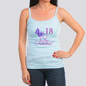 Fabulous 18th Birthday For Girls Jr. Spaghetti Tan