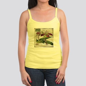 vintage orchid french botanical Tank Top