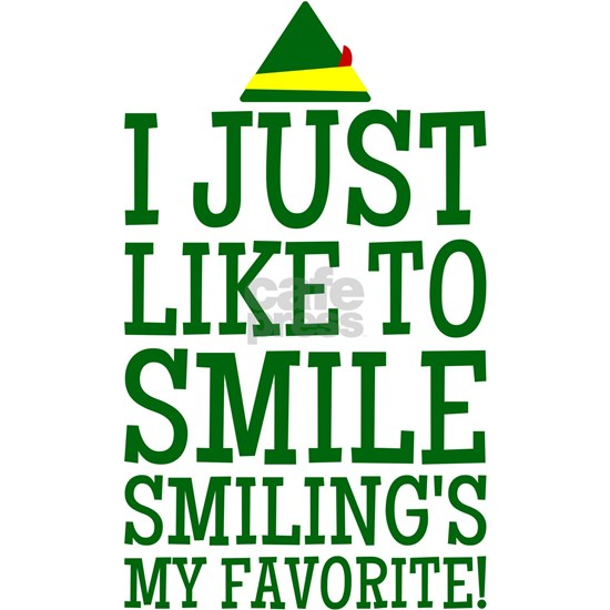 Elf Smiling Quote