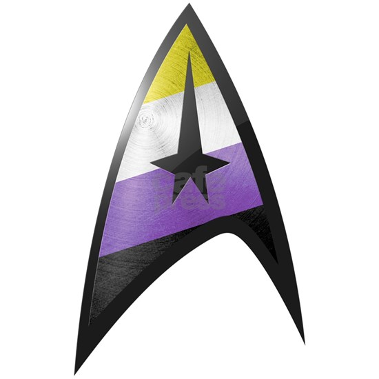 Star Trek Nonbinary Command Emblem