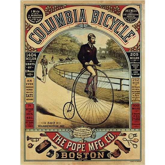 Vintage poster - Columbia Bicycle