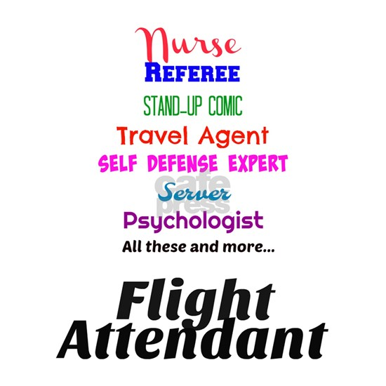 Funny Flight Attendant Job Description