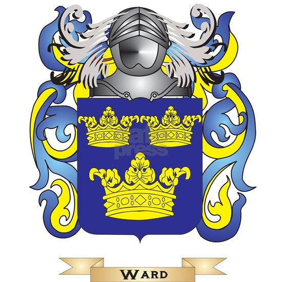 Ward Family Crest (Coat of Arms)