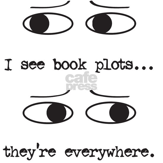 I see book plots... (black)
