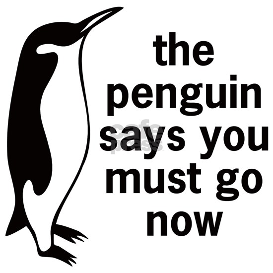 The Penguin Says