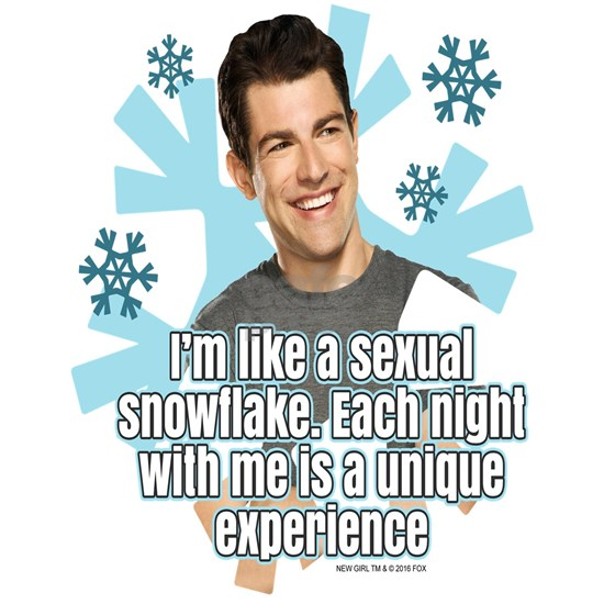 New Girl Snowflake