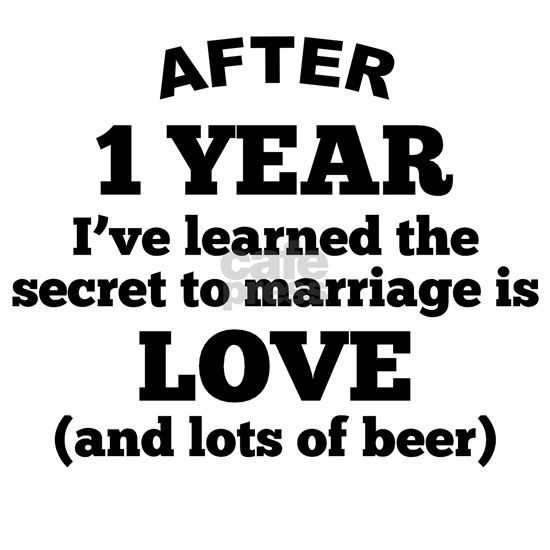 1 Year Of Love And Beer