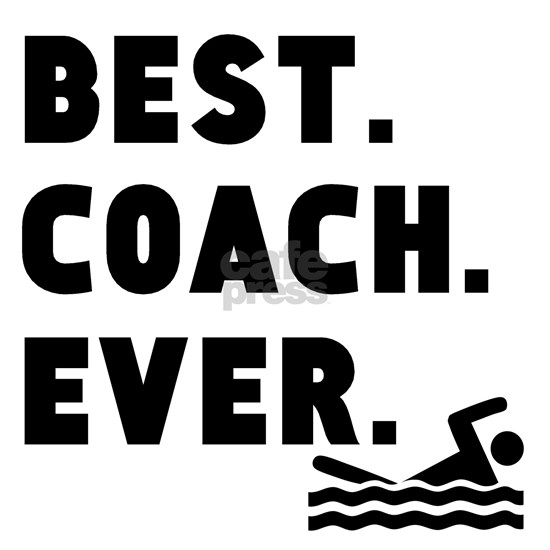 Best Coach Ever Swimming
