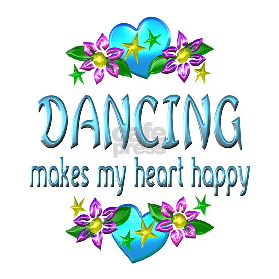 Dancing Heart Happy