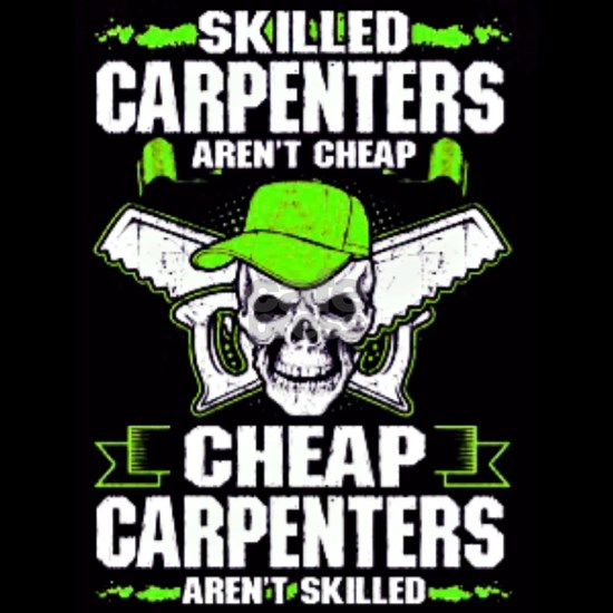 Skilled Carpenters skull