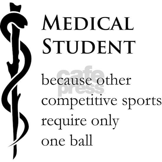 Medical Student Because... 11 oz Ceramic Mug Medical