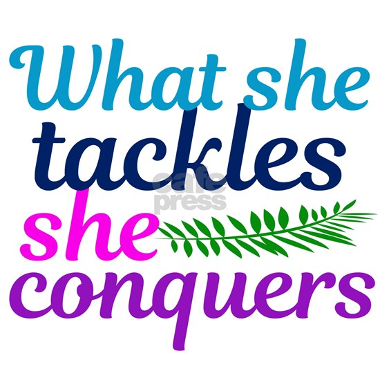 She Conquers