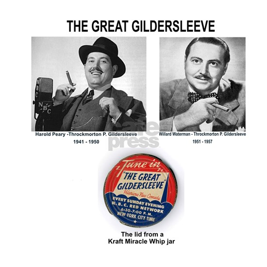 THE GREAT GILDERSLEEVE - OLD TIME RADIO
