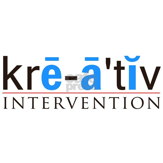 Kreative Intervention White Logo