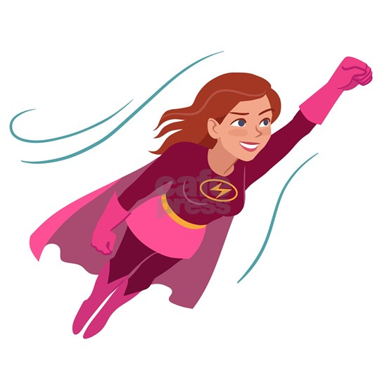 Superhero woman