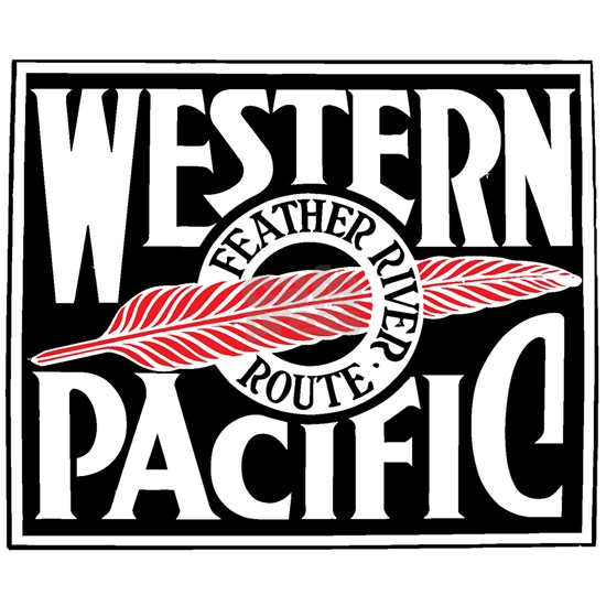 Feather River Route train logo