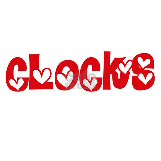 Clocks Heart Design