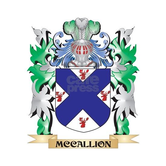 Mccallion Coat of Arms - Family Crest