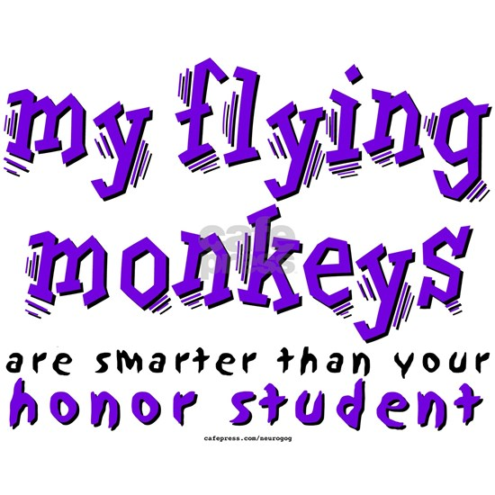 Flying Monkeys Honor (Purple)