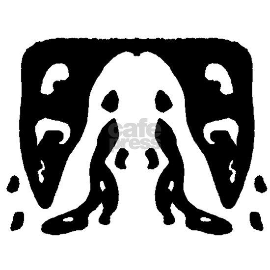 Ink Blot Crying Walrus